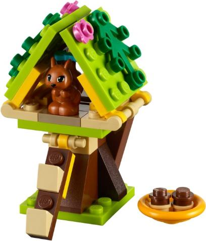LEGO Friends Squirrel's Treehouse #41017