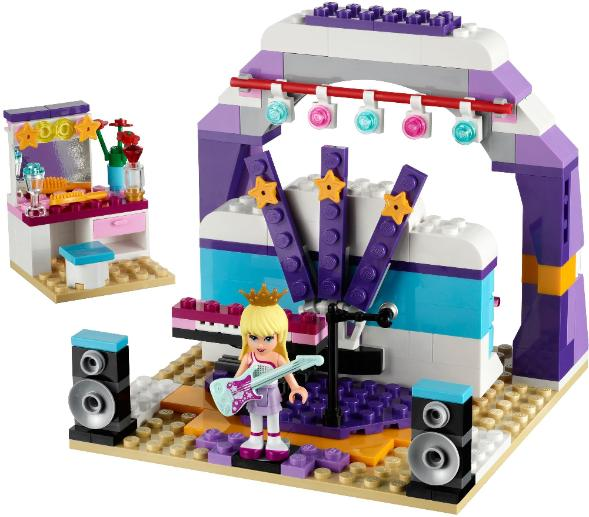 LEGO Friends Rehearsal Stage #41004