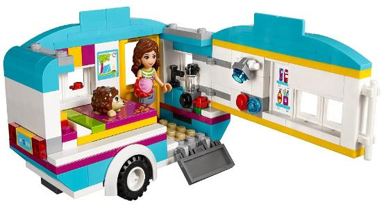 LEGO Friends Summer caravan
