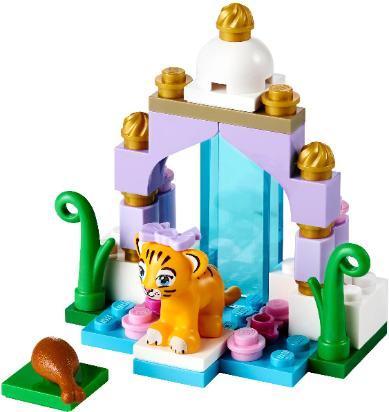 LEGO Friends Tiger's Beautiful Temple #41042 the build