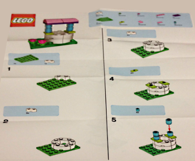 LEGO Friends Wishing Well instructions